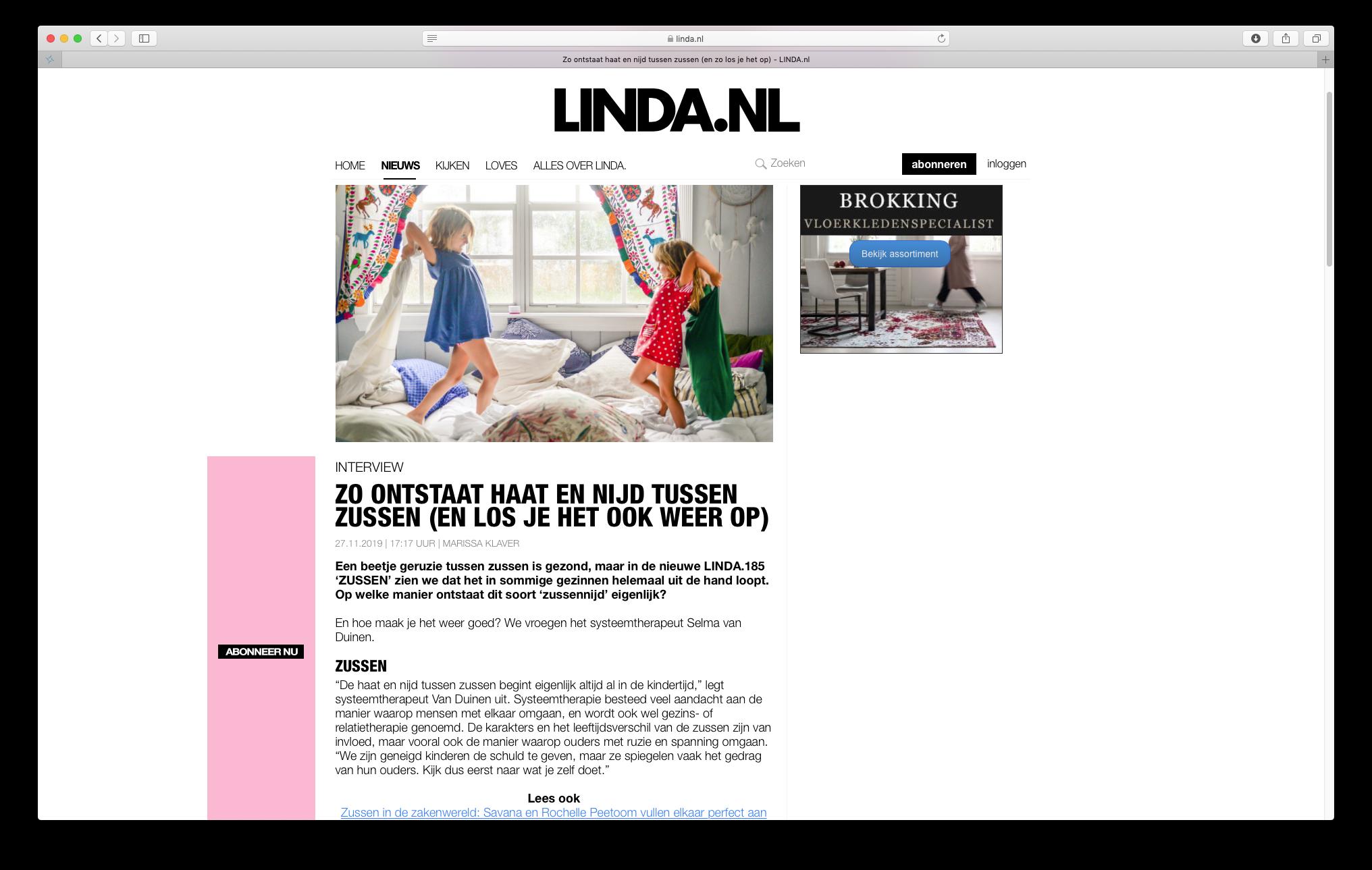 screen linda.nl